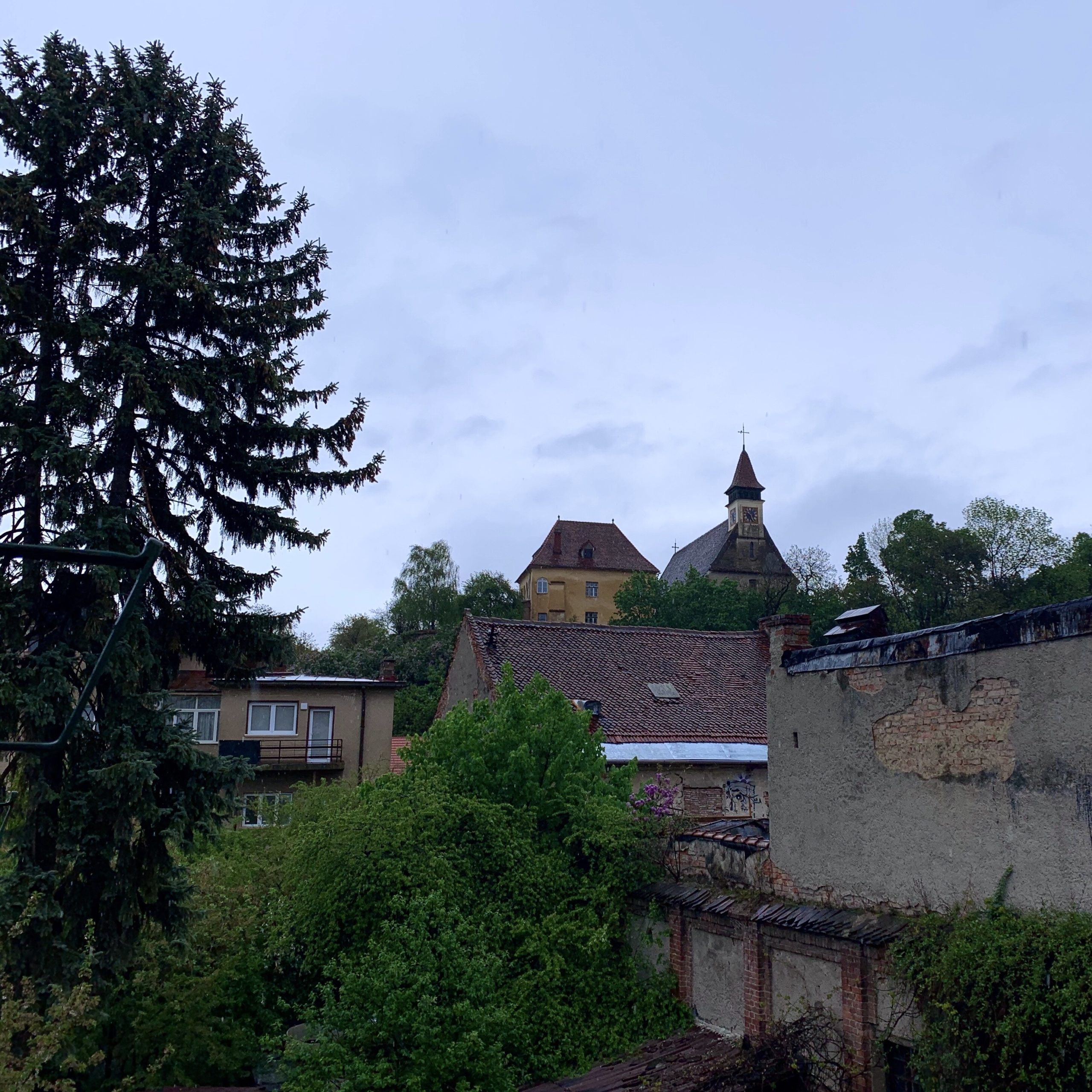 Rainstorm, Brașov, Romania on 3rd May 2020 at 6.33pm – by Stefania Cotei
