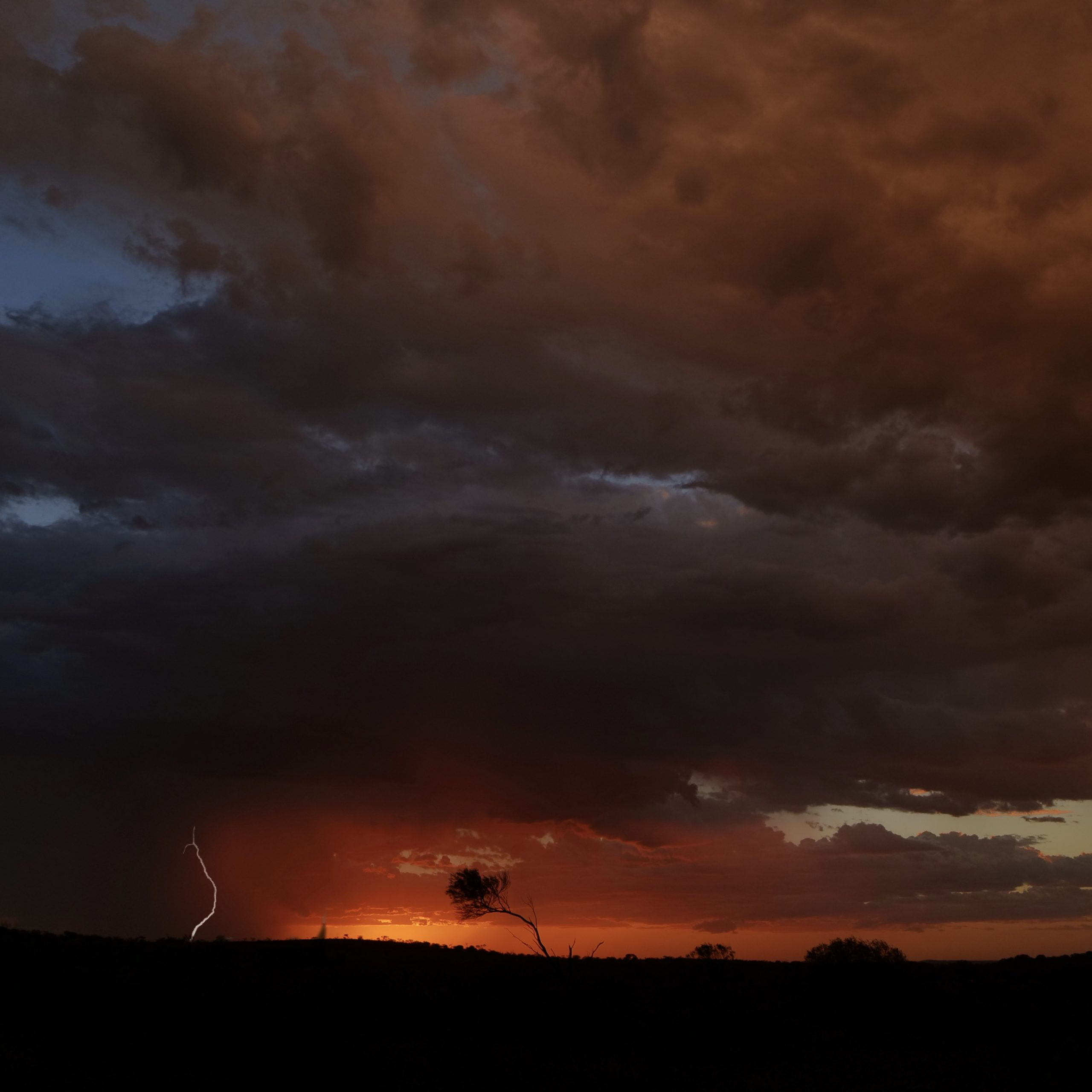 Storm, Wiluna, Western Australia – by Ann Jones